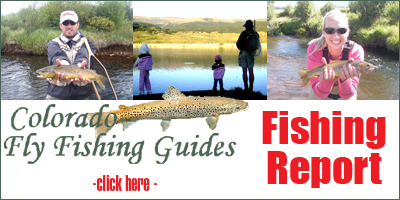 Colorado fly fishing guides leadville arkansas river for Twin lakes fishing report